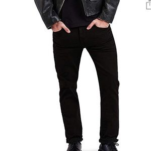 Levi's Black 511 Slim Fit Jeans 30x30